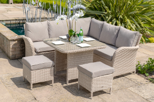 monaco square dining set