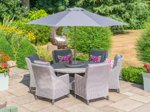 Oslo 6 Seat patio set